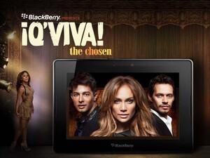 BlackBerry presents ¡Q'Viva! The Chosen starring Jennifer Lopez, Marc Anthony, and Jamie King