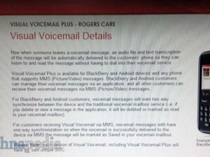 Rogers offering Visual Voicemail Plus to BlackBerry users starting in February