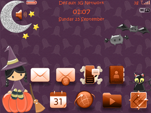 Contest: Enter to win a free copy of Sweet Spooky Halloween Theme by ale7714 Designs!