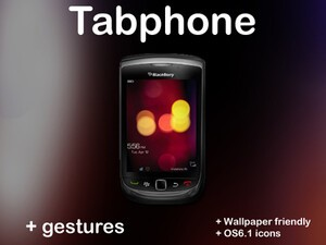 Contest: Tabphone by BBin - Bring PlayBook gestures to your BlackBerry Torch!