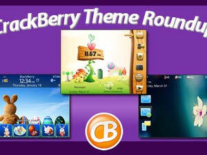 BlackBerry theme roundup for April 12, 2011 - Easter edition, plus 50 free copies of Spring Story by BB-Freaks!