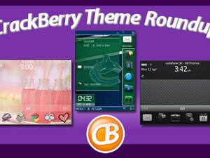 BlackBerry theme roundup for April 27, 2011 - 25 copies of Shadow of 6 by BBThemes up for grabs!