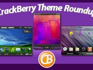 BlackBerry theme roundup - Torch owners, enter to win a free copy of Glow by Z Man Designs!