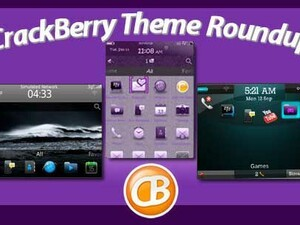 BlackBerry theme roundup - 50 copies of Purple Damask available to win!