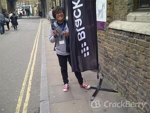 An inside look at BlackBerry 10 Jam London