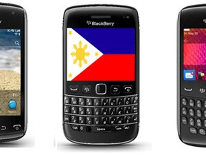 Five BlackBerry 7 smartphones land in the Philippines