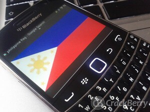 BlackBerry 7.1 made available in the Philippines for the Bold 9900