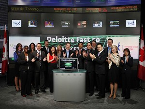 RIM moves up the rankings in the Deloitte Technology Fast 50 Awards 2012