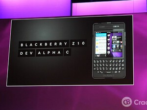 BlackBerry 10 Dev Alpha C shown off at BlackBerry Jam Europe