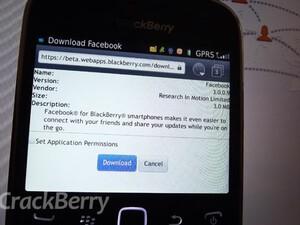 Facebook for BlackBerry updated to v3.0.0.9 in BlackBerry Beta Zone