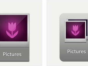 BlackBerry 10 icons have been updated with a smaller size and new look