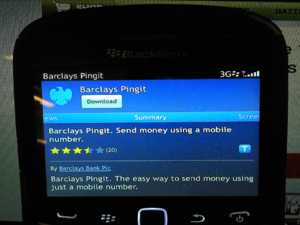 Barclays introduces Pingit - Mobile Banking app that lets you transfer money via text
