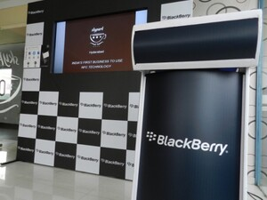 Introducing the SkyPark Café - The first BlackBerry equipped cafe in India
