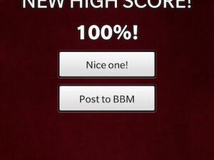 How fast can you type on your BlackBerry Z10? Try out Thumb Master and become keyboard king!