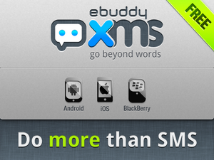 eBuddy XMS now available for BlackBerry and hoping to win you over