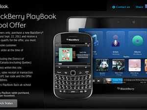 RIM offering $100 prepaid gift cards for BlackBerry owners who purchase PlayBooks