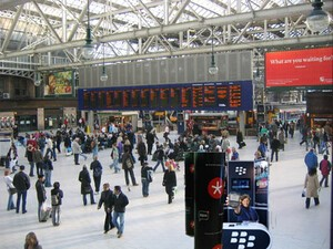 BlackBerry stands coming to a train station near you