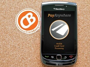 Accept payments on the go from your BlackBerry with PayAnywhere