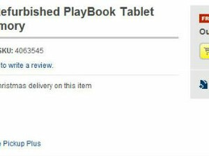 Best Buy selling refurbished 32GB BlackBerry PlayBook online for $169