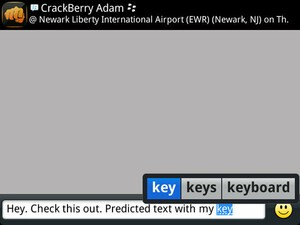 How to enable / disable predictive text on your BlackBerry device