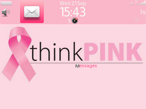 Show some support in the fight against Breast Cancer with a great free BlackBerry theme
