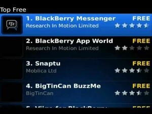 A to Z with BlackBerry App World