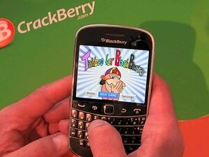 Grab some friends and have a giggle with Tahboo for BlackBerry smartphones