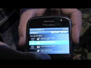 WES 2010 BlackBerry Solution Showcase Spotlight Part I: BoxTone, Tether, WorldMate and Bayalink