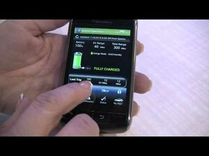 CES 2010: BlackBerry On Star Mobile App for the Chevrolet Volt Walk Through