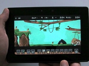 Caveman HD comes to the BlackBerry PlayBook