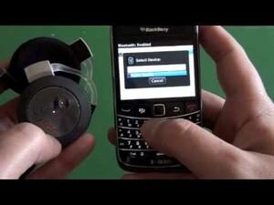 Video Review: Motorola (MOTOROKR) S7-HD Bluetooth Stereo Headset for BlackBerry