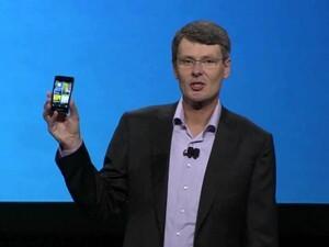 Thorsten Heins introduces the BlackBerry 10 Dev Alpha at BlackBerry World