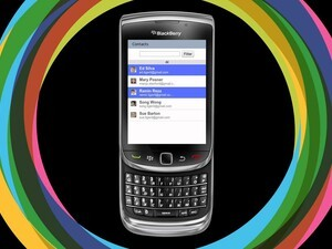 Soonr adds support for touchscreen BlackBerry smartphones