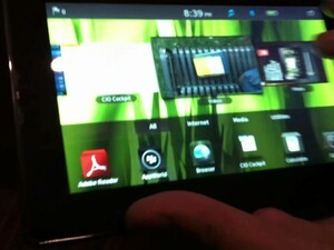 Live Hands-On with the BlackBerry PlayBook!