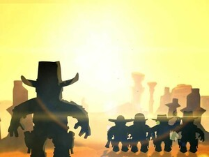 Step back in time to the wild west with Cowboy Guns for the BlackBerry PlayBook from Union