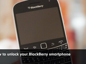 How to: Unlock your BlackBerry 7 Smartphone