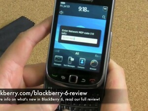 How to Unlock Your BlackBerry 6 Smartphone