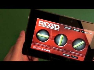 RIGID Digital Bubble Level for the BlackBerry PlayBook