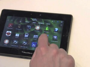 More BlackBerry PlayBook questions answered - multitasking, moving homescreen icons, menu options, etc.
