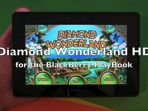 Diamond Wonderland HD arrives for the BlackBerry PlayBook