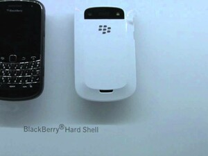 White Hard Shell Case for the BlackBerry Bold 9900 / 9930 Looks Hawt!