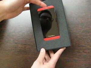 Limited Edition Red BlackBerry Z10 Unboxing
