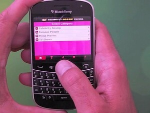 It's quiz time for your BlackBerry - with Pop Celebrity Gossip Trivia
