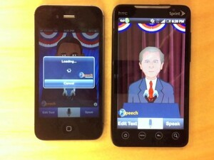 iSpeech brings Bush and Obama text to speech apps