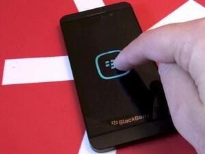 BlackBerry Z10 boot screen Easter Egg!