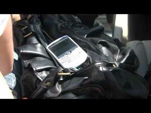 BlackBerry Visor Mount Speakerphone Reality Review - pt. 1