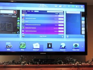 Controlling your BlackBerry PlayBook from the couch with BlackBerry Remote