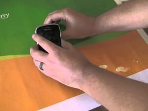 Breaksclusive: Introducing the BlackBerry KickStand!