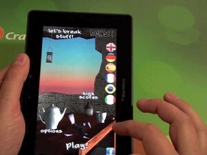 Unleash the fury with Let's Break Stuff for the BlackBerry PlayBook