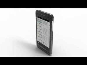 HOT: Video render of first full touchscreen BlackBerry 10 phone!